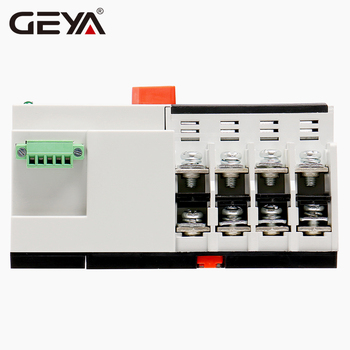GEYA W2R Mini ATS 4P Din Sliedes Automatic Transfer Switch Kontrolieris Elektrisko Tips ATS Max 100.A 4POLE 512