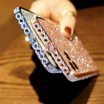 IPhone X XR XS Max Gadījumā Bling Dimanta Bumper For iPhone 11 Pro Max 8 7 6 6S Plus SE